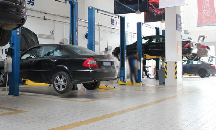 慧众奔驰s350汽车自动变速箱案例|奔驰自动变速箱维修