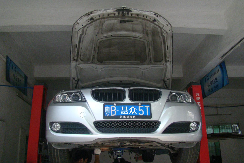 11年款320i 6HP-21自动变速箱  行驶中故障灯亮起(锁档)故障维修案例