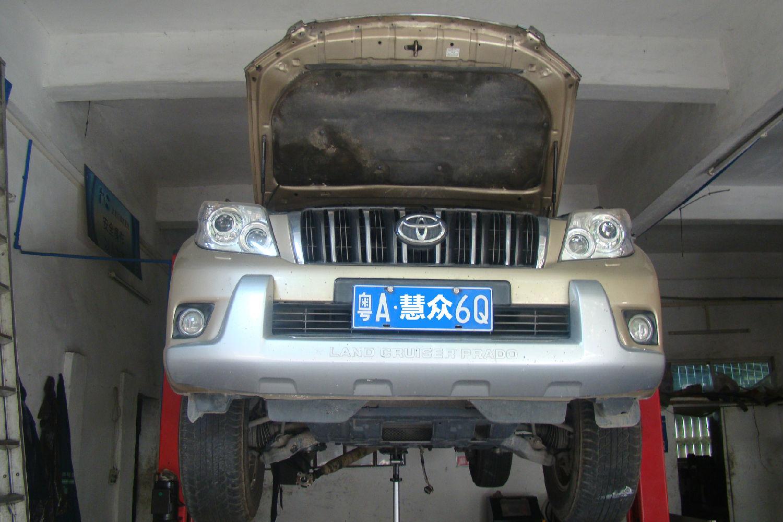 普拉多自动变速箱挂D挡无法正常行驶且异响故障维修案例