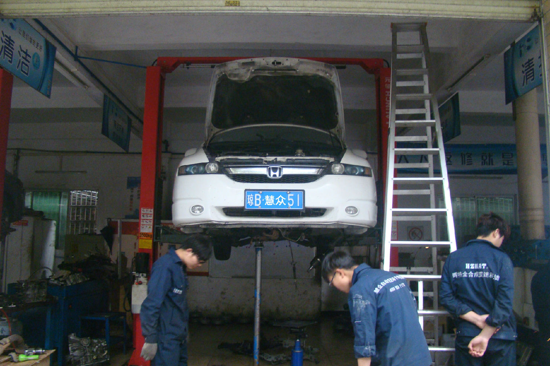 奥德赛自动变速器行驶时车身抖动故障维修案例