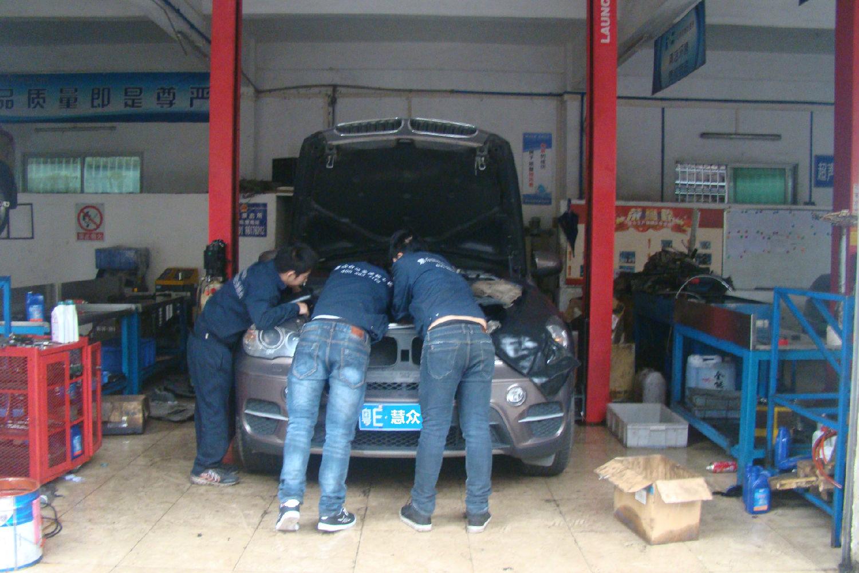 X5 SUV自动变速器锁档故障维修案例