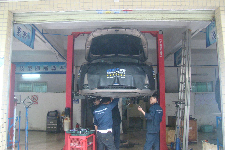 君越轿车自动变速器没有倒挡故障维修案例