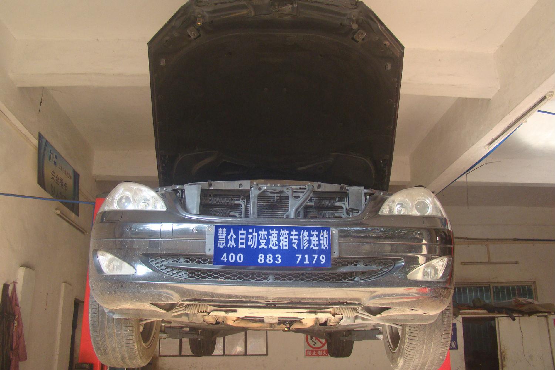 S350升档不正常、有明显冲击感故障维修案例